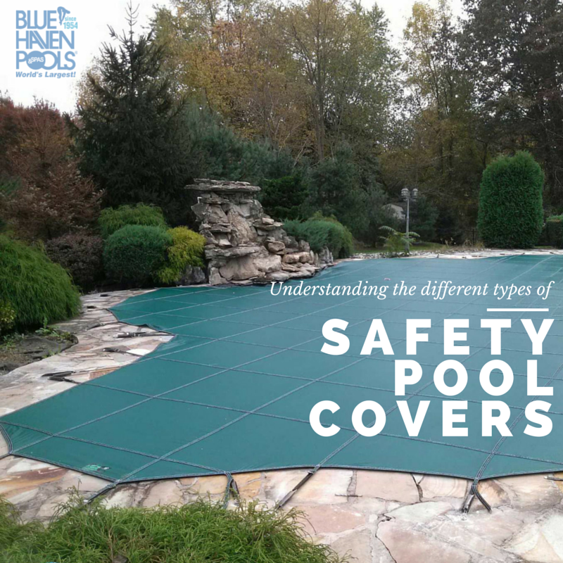 a backyard with a pool with a cover on it