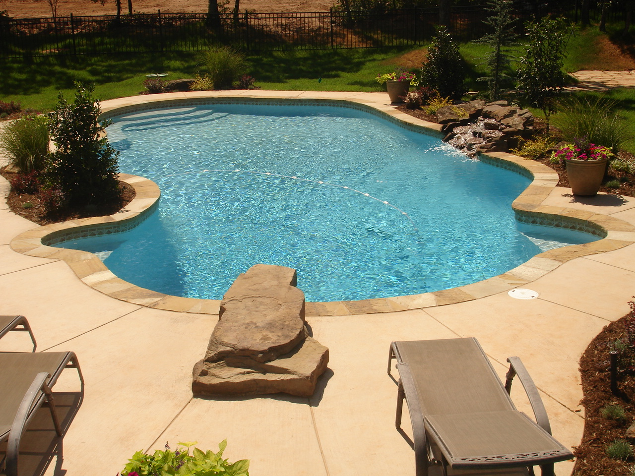 Free Form Pool Designs In Okc Norman Ok Blue Haven Pools Blue Haven Pools Okc