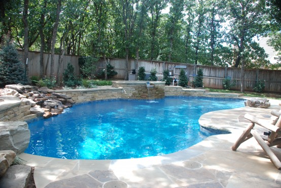 Free Form Pool Designs In Okc Amp Norman Ok Blue Haven