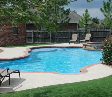 Swimming pools oklahoma city blue haven pools okc - Swimming pool contractors oklahoma city ...