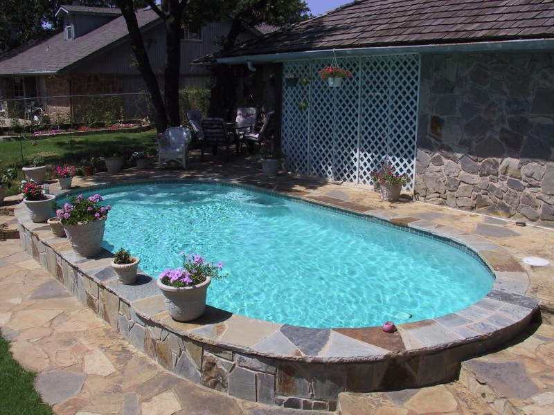 Classic pool designs blue haven pools blue haven pools okc for Pool design okc