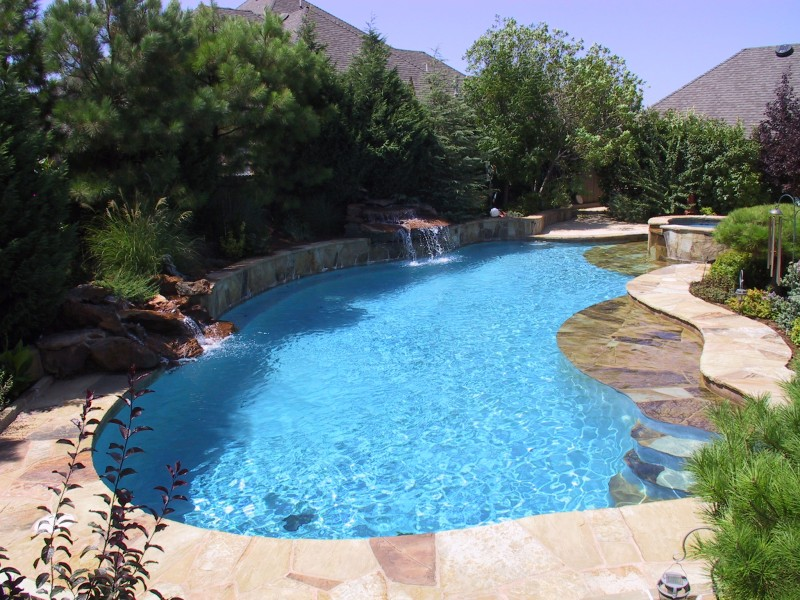 Free Form Pool Designs in OKC & Norman OK | Blue Haven Pools ...