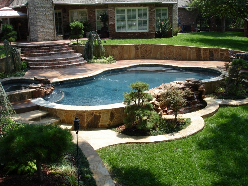 free form pool designs in okc norman ok blue haven pools. beautiful ideas. Home Design Ideas