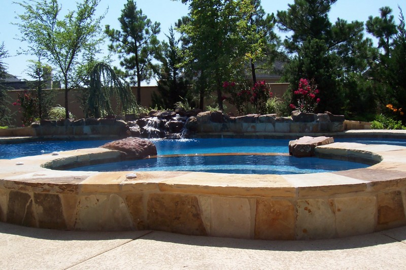 Pool Special Features Designs In Okc Blue Haven Pools Blue Haven Pools Okc