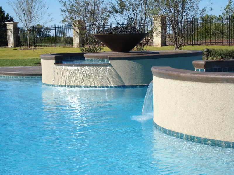 Pool Special Features Amp Designs In Okc Blue Haven Pools