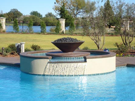 Water Features Oklahoma City Okc Blue Haven Pools
