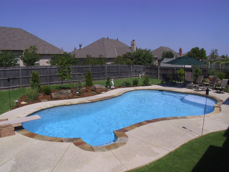 Free form pool designs blue haven pools for Pool plans free