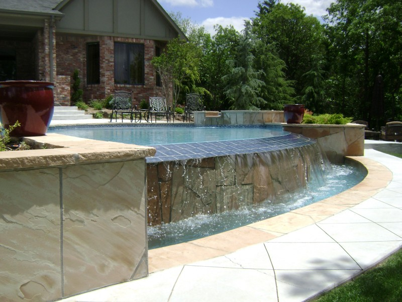 Pool Special Features & designs in OKC - Blue Haven Pools