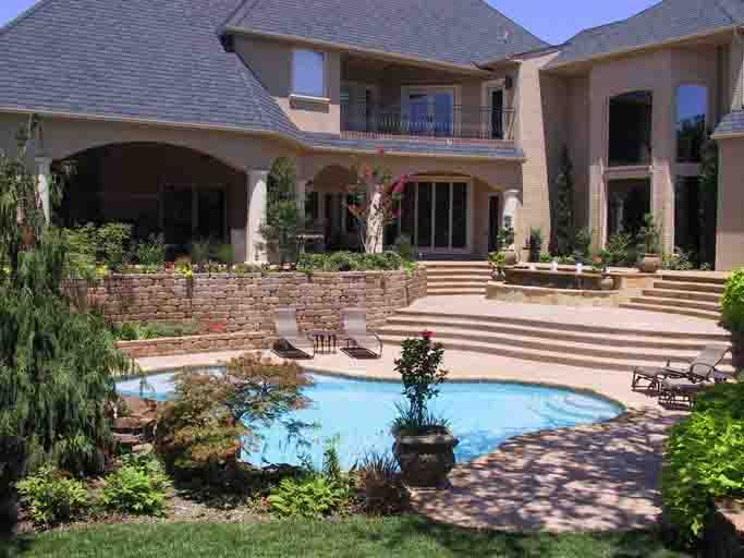 Professional swimming pool contractors in okc blue haven - Swimming pool contractors oklahoma city ...